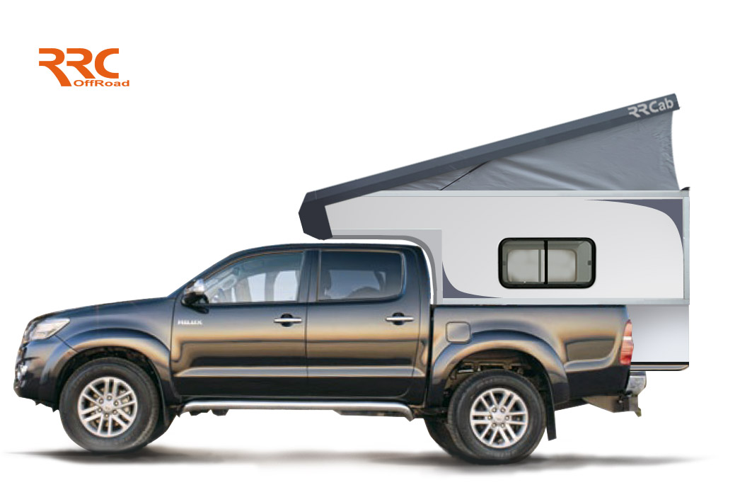 rrcab cellule de camping 4x4 amovible sur pick up 4x4. Black Bedroom Furniture Sets. Home Design Ideas